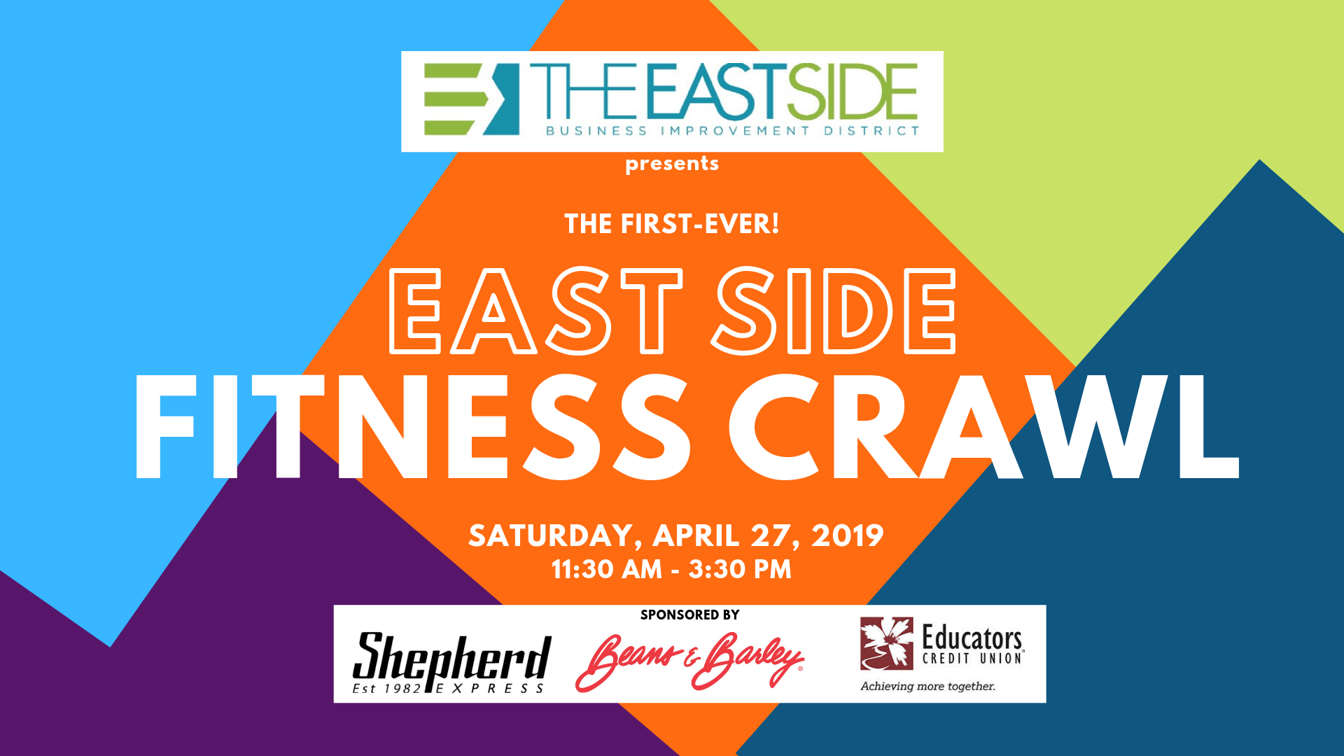 East Side BID Announces First Fitness Crawl