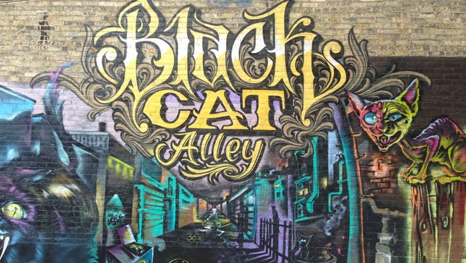 Black Cat Alley looking for women, LGBTQ and BIPOC artists to create new murals