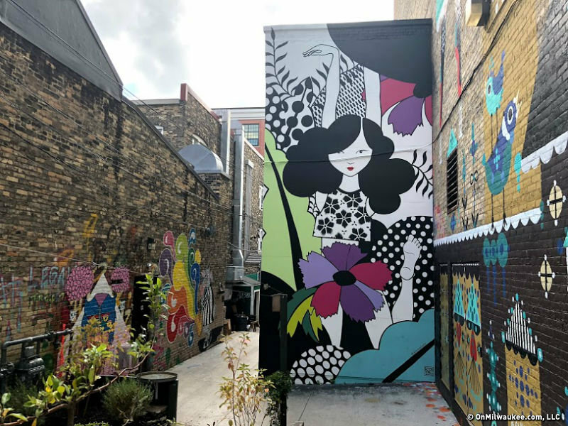 Black Cat Alley will get three new murals this month