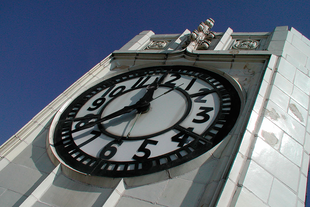 EAST SIDE'S CLOCK TOWER BECKONS