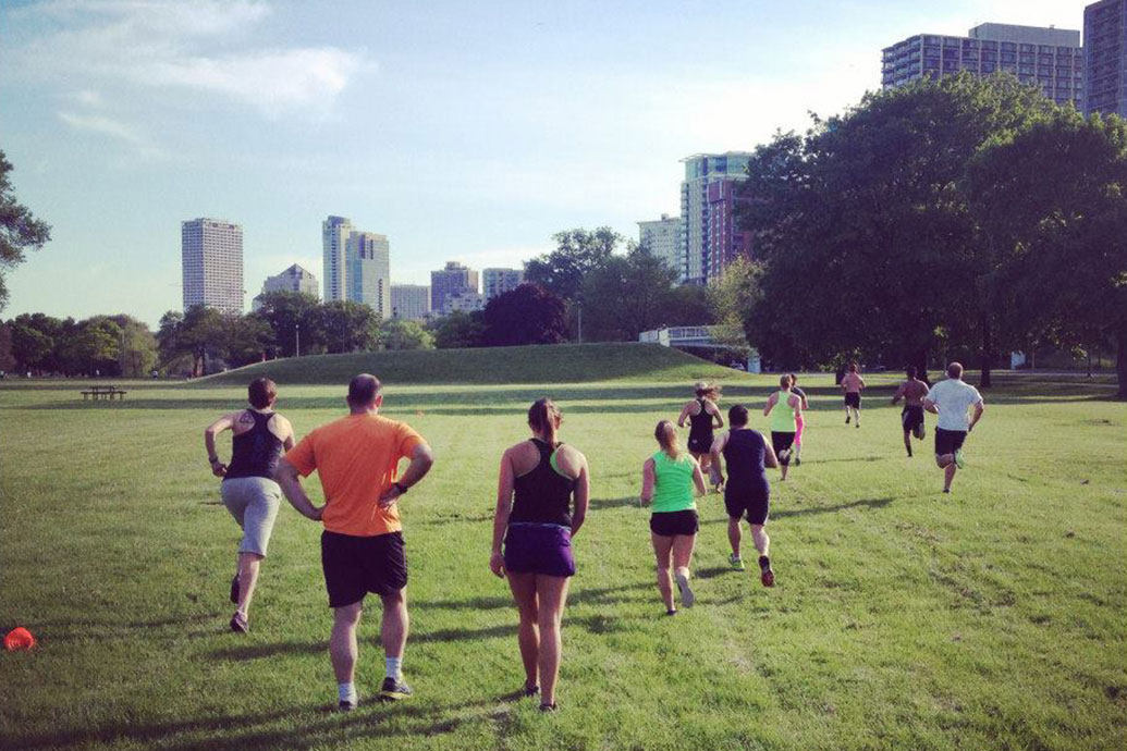 GETTING FIT ON EAST SIDE