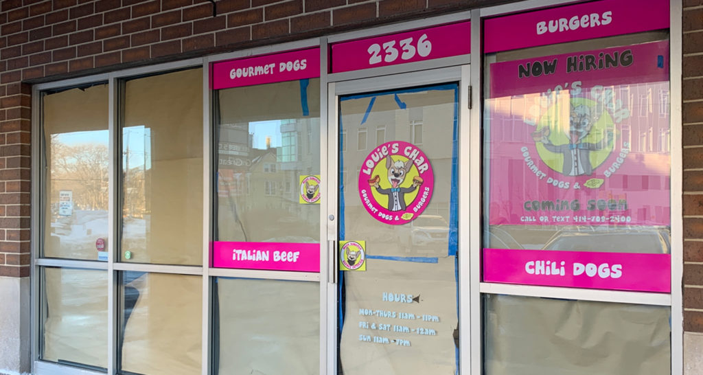 Louie's Char Dogs & Butter Burgers coming to East Side strip mall where Blockbuster used to be