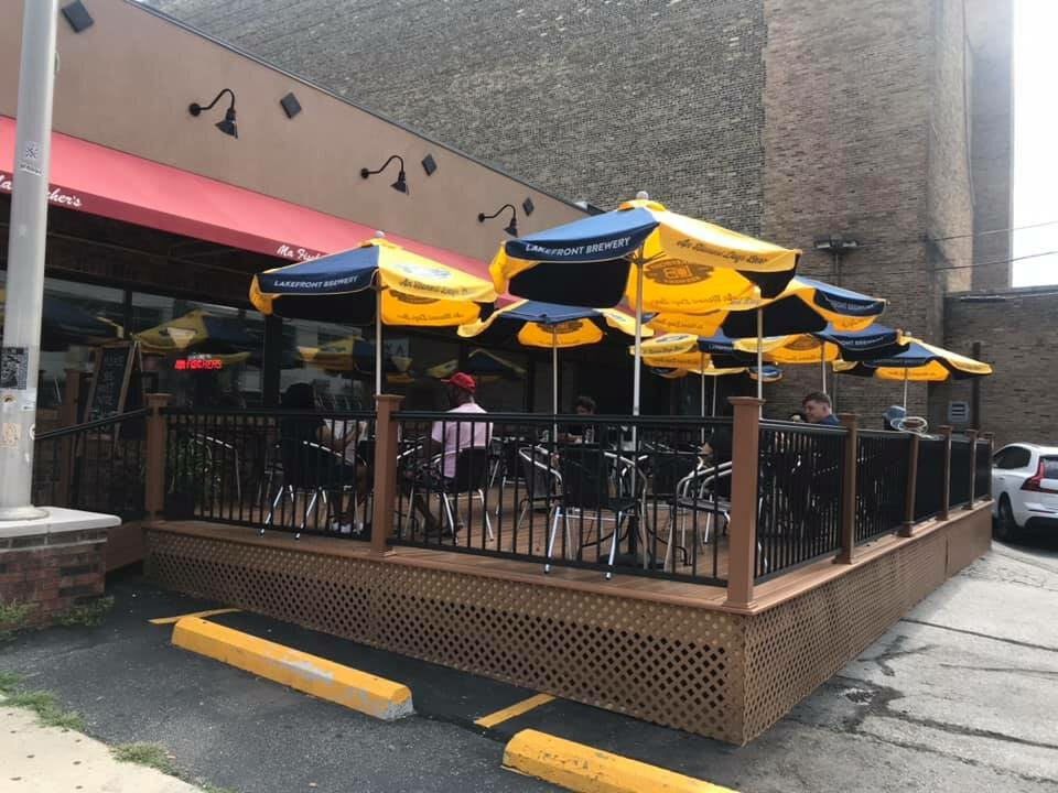 Ma Fischer's gets a patio; serves beer and wine