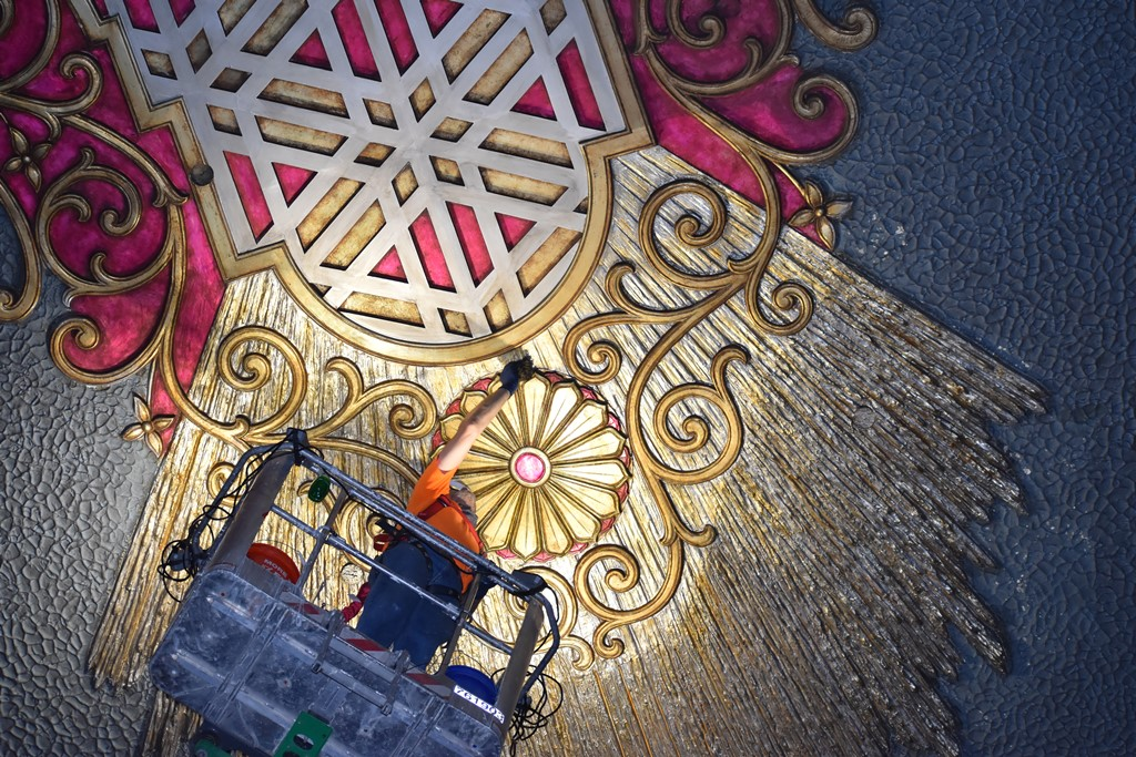 Behind-the-scenes look at the Oriental Theatre restoration project