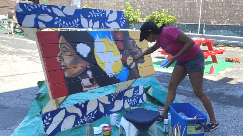 Milwaukee's East Side Art Lot: A Creative Dream Supported by AARP WI's Small Dollar, Big Impact Grant