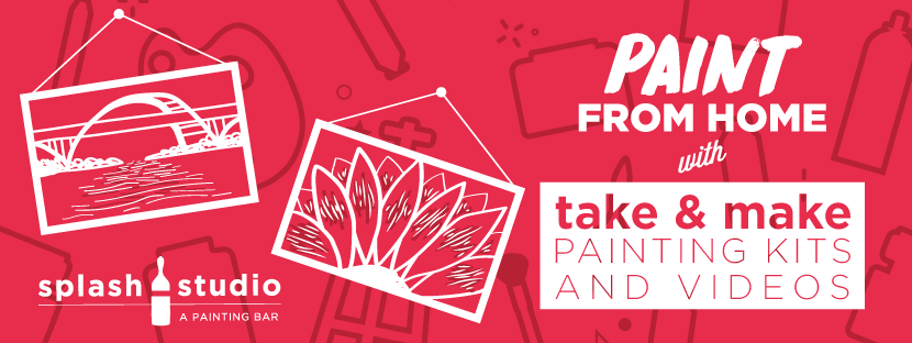Splash Studio wants you to brush up on your paint skills with 'Take & Make Packages'